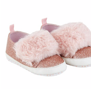 Pink Fur Shoes