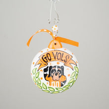 Load image into Gallery viewer, Tennessee Puff Ornament Go Vols