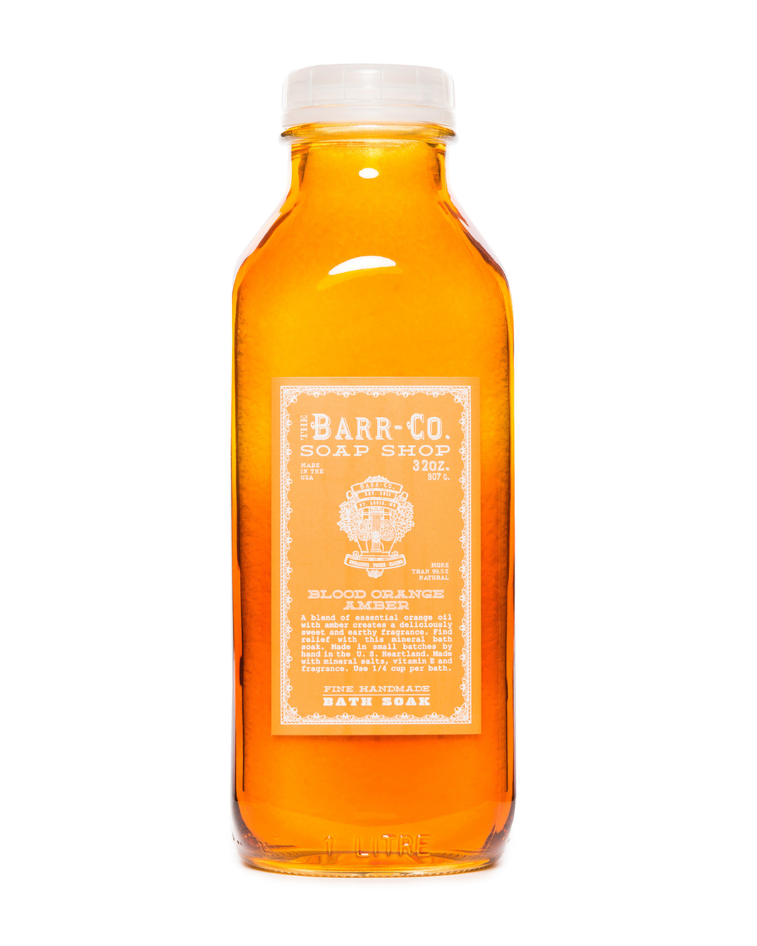 Barr- Co. Blood Orange Amber Bath Soak