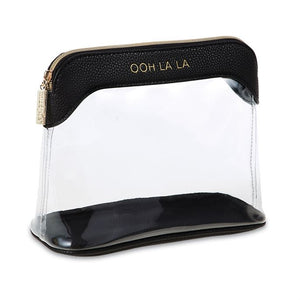 Ooh La La Clear Make Up Bag
