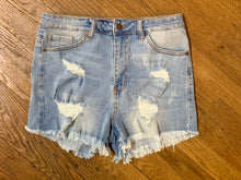 Load image into Gallery viewer, Easy Tiger Denim Shorts