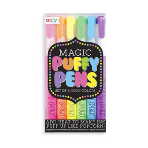 Magic Puffy Pens