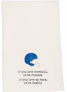 If You Love Football Tailgate Towel