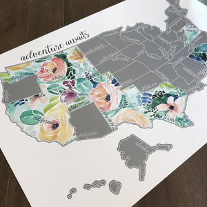 Scratch off Maps