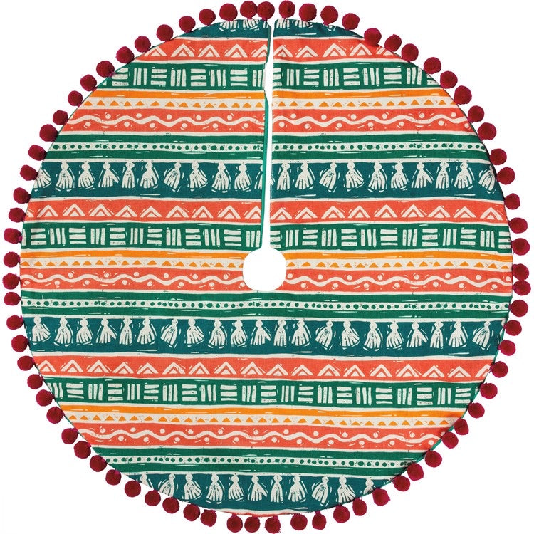 Bohemian Tassel Tree Skirt