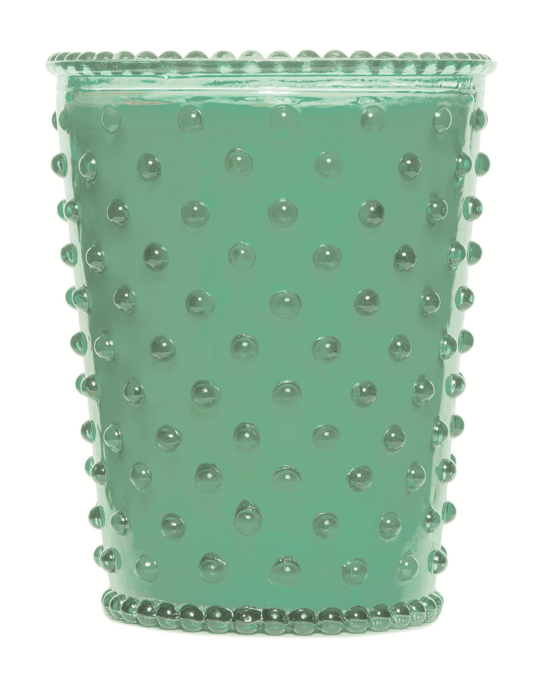 Eucalyptus Hobnail Glass Candle