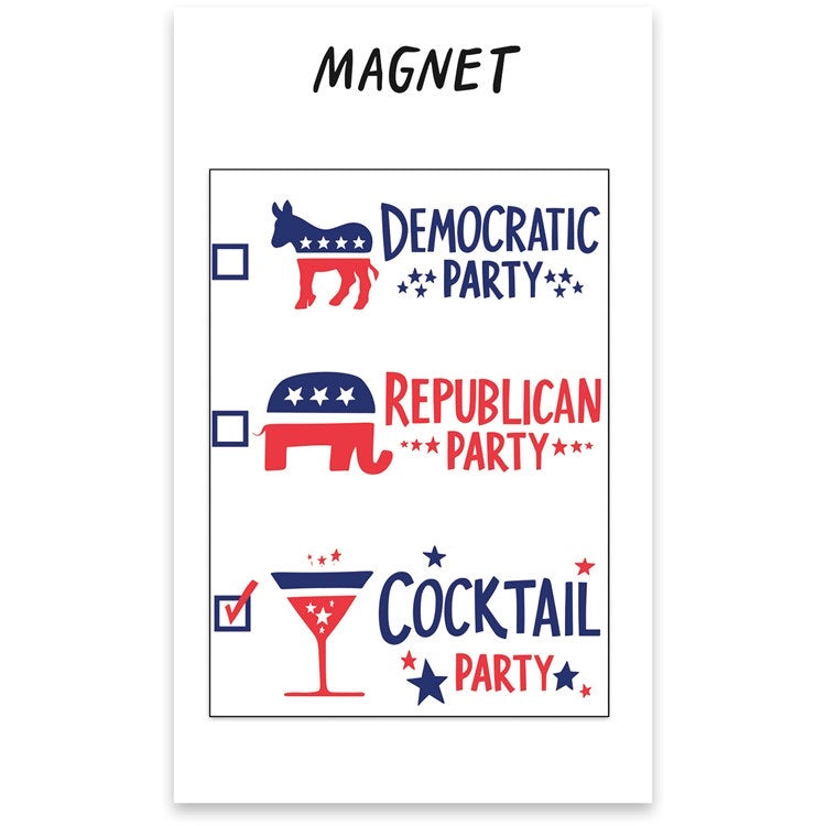 Magnet - Cocktail Party