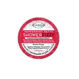 Peppermint Shower Fizzy