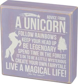 Advice From A Unicorn