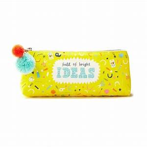 Full Of Bright Ideas Pencil Pouch