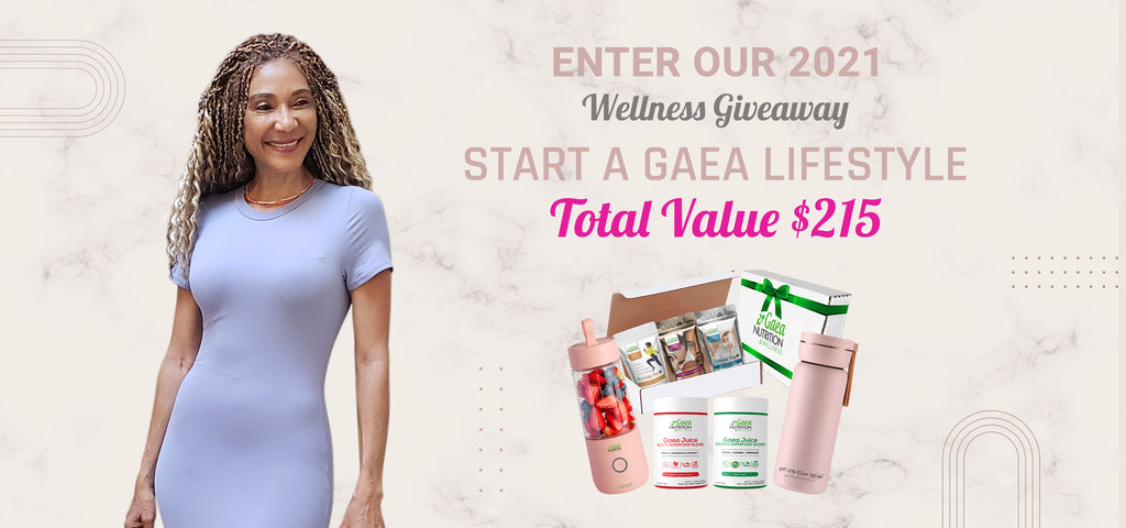 free gaea lifestyle wellness giveaway over $200 in gifts