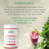 Beets superfood powder