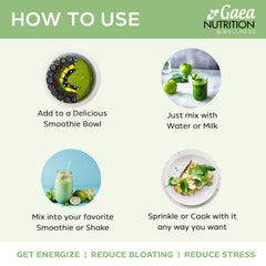 greens superfood powder how to use