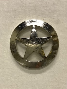 Ranger Star Silver Lapel Pin