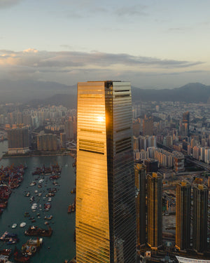 A Quick Fly Through Hong Kong's Love Affair With Skyscrapers