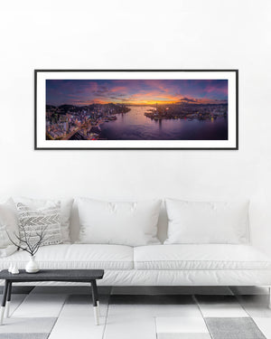 The Real Light Show by Blair Sugarman - Framed