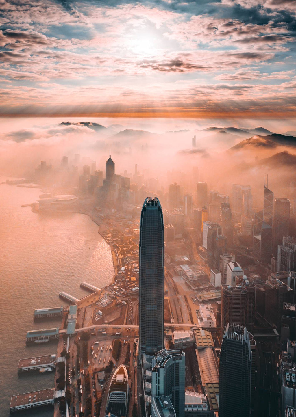 Inversion Hong Kong by John Huang - Print