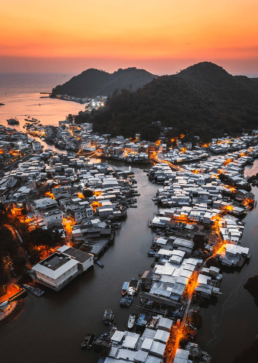 The Magic of Tai O by John Huang - Print