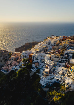 Aegean Sunsets by Martin Lee - Print