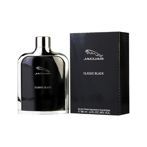 Jaguar Classic Black Eau De Toilette, Fragrance For Men, 100ml. 100% Original