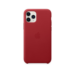 APPLE IPHONE 11 PRO LEATHER CASE MWYF2 PRODUCT RED