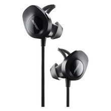 Load image into Gallery viewer, BOSE EARPHONE SOUNDSPORT WIRELESS BLACK