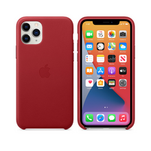 Load image into Gallery viewer, APPLE IPHONE 11 PRO LEATHER CASE MWYF2 PRODUCT RED