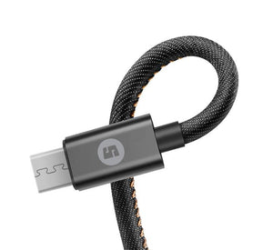 ChargeSync Fabric Micro USB Cable