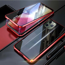 Load image into Gallery viewer, Double-sided Magnetic Absorption Metal Case for iPhone X/XS, iPhone Xs Max & iPhone XI
