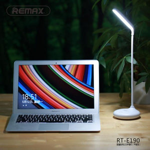 Remax RL-E190 Dawn Mini Noloxamic Portrait 1.5 W Table Led TableLamp with 3-Spoliness and built-in battery White