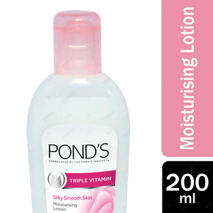 Ponds Triple Vitamin Moisturising Lotion Silky Smooth Skin 200ml