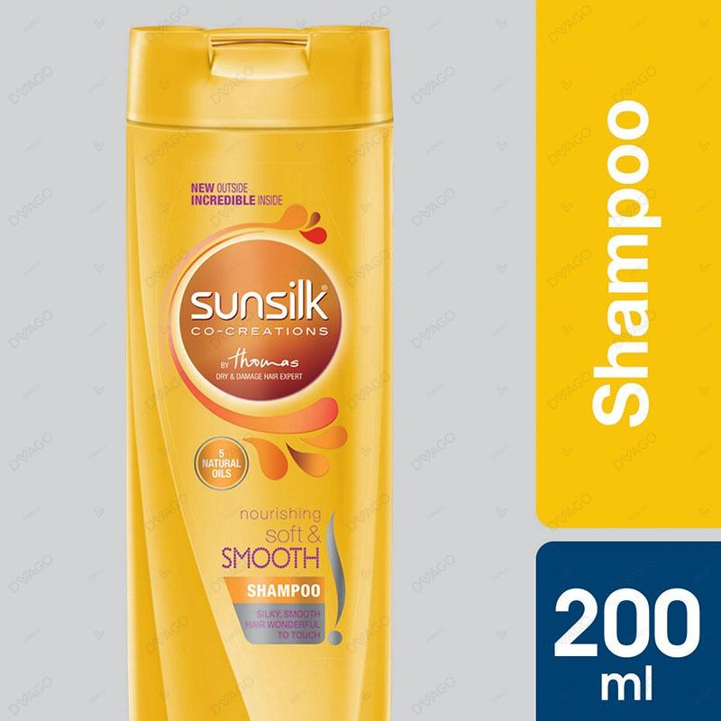 Sunsilk Shampoo Soft & Smooth 200ml