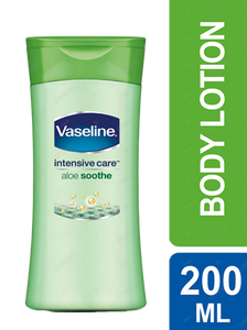 Vaseline Aloe Soothe Lotion Intensive Care 200ml