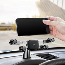 Load image into Gallery viewer, Baseus Horizontal Direct-view Gravity Linkage Automatic Lock Dashboard Car Mount Car Phone Holder SUYL-HP01