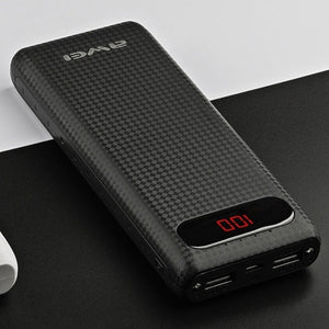 Awei P70K 20000mAh Dual USB Power Bank Charger with Led Light