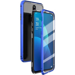 Double Sided Magnetic Adsorption Metal Phone Case For Oppo & Vivo