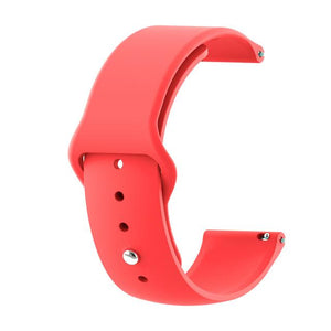 6 Colors Silicone Watch Straps for Apple Watch Band 44mm 40mm 42mm 38mm Series 5/4/3/2/1 Wrist Band Bracelet for iWatch Strap