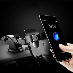 Black Yao Suction Cup Phone Holder