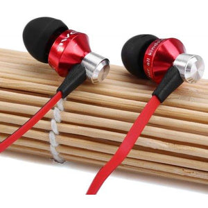 Awei S950vi 1.2m Flat Cable Design In - ear Earphone with Volume Control Mic for Android Mobile Phone