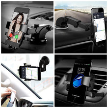 Load image into Gallery viewer, Black Yao Suction Cup Phone Holder