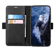 Load image into Gallery viewer, HECI HDD Smart Phone Leather Flip Cover Smartcards Smartphone Cases