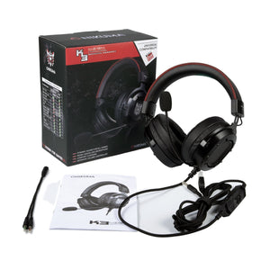 K3 RGB Light Gaming Headset