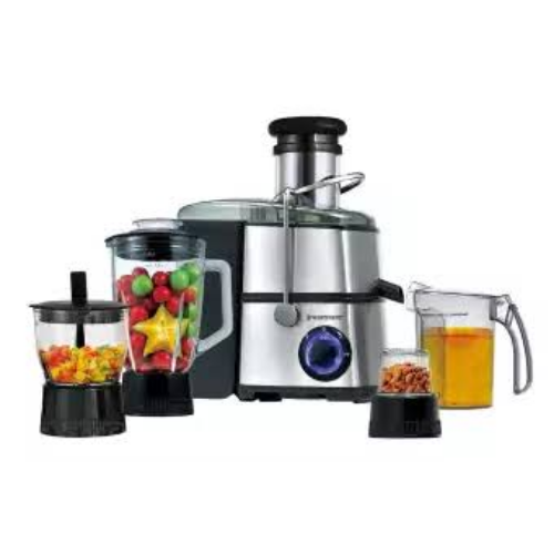 Sugar Can Juicer 1000Watt 4 in 1 Juicer Blender,Grinder and Chopper Cup 1846