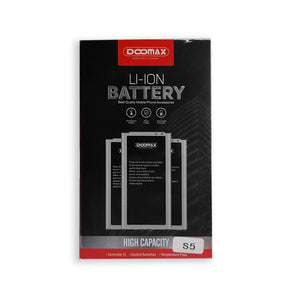 Original Doomax S5 Battery for Galaxy S5 G900 G900S G900I G900F G900H 2800mah Li-Ion Battery