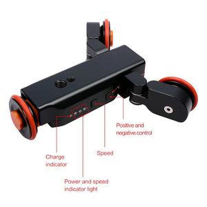 Jmary M5  Electric Autodolly Remote Control Video Rail Track Slider For Phone DSLR Camera Smartphone