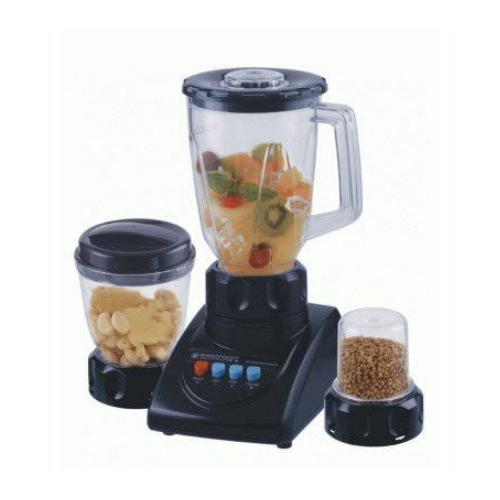343 Blender Dry and Wet mill 3 in 1 Black color New Model