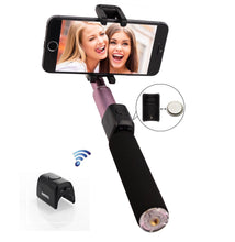 Load image into Gallery viewer, REMAX P4 Bluetooth Selfie Stick Monopod Wireless Selfie Stick Extendable Handheld Shutter For Iphone X 8 7Plus Samsung Xiaomi LG