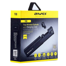Load image into Gallery viewer, Awei T8 Bluetooth Earphone 3D Stereo Headphones with Charging Box