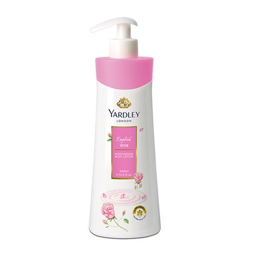 Yardley English Rose Moisturising Body Lotion, 400ml