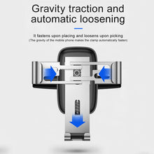 Load image into Gallery viewer, Baseus Gravity Car Mount Holder For Phone In Car CD Slot Car Phone Holder For iPhone Samsung Xiaomi Mobile Cell Phone Car Stand